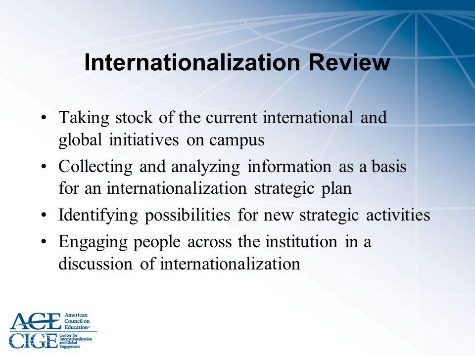 Internationalization Review