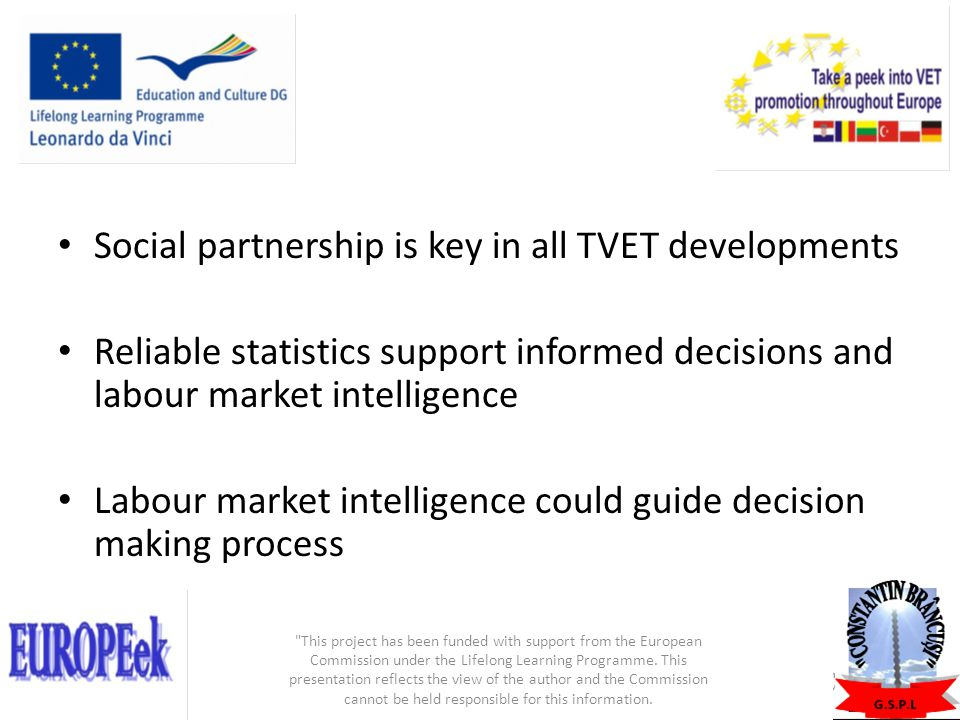 Social partnership is key in all TVET developments