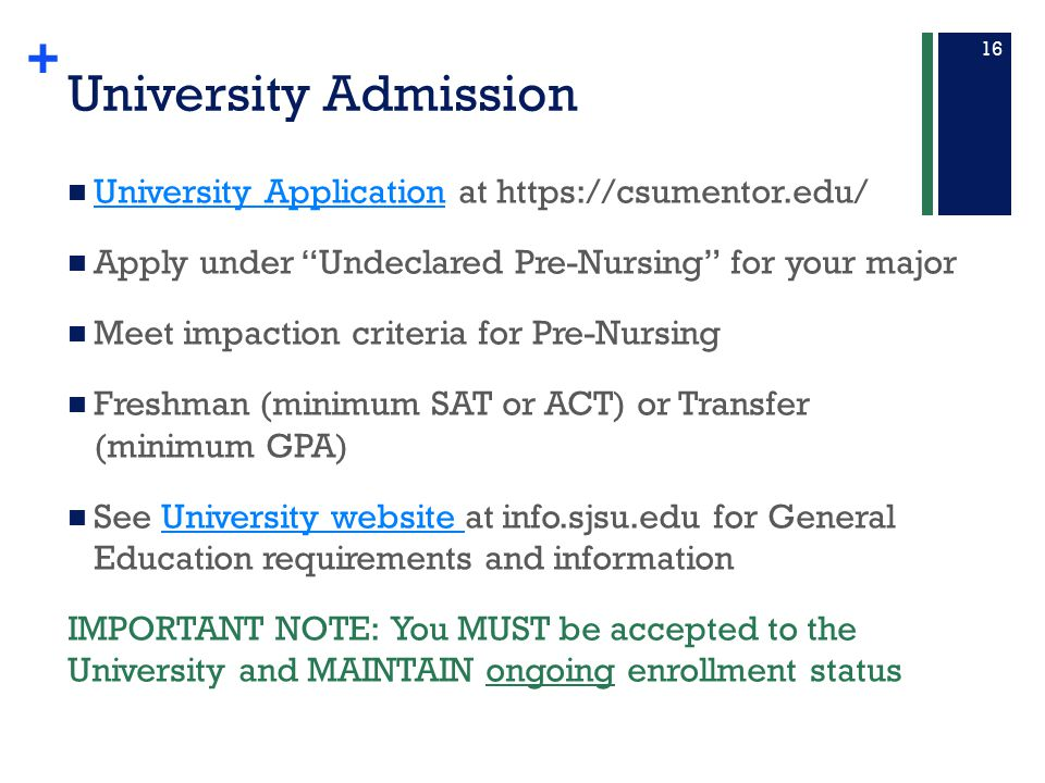 University Admission University Application at https://csumentor.edu/