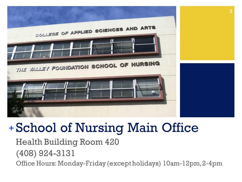 School of Nursing Main Office