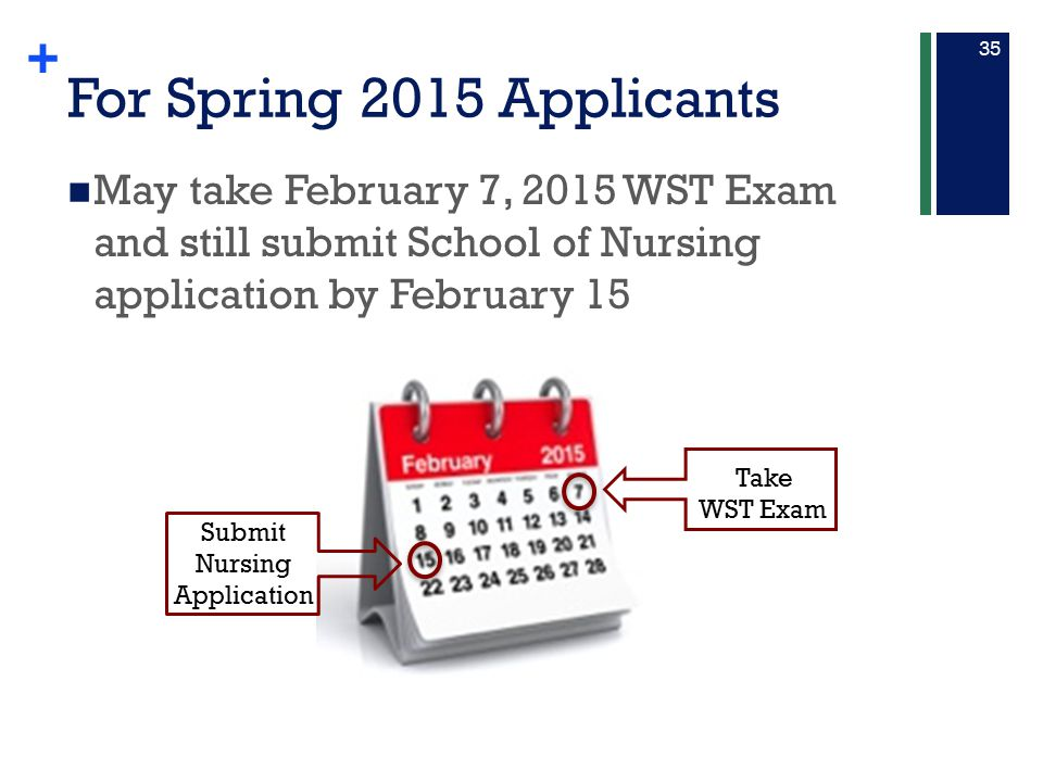 Submit Nursing Application