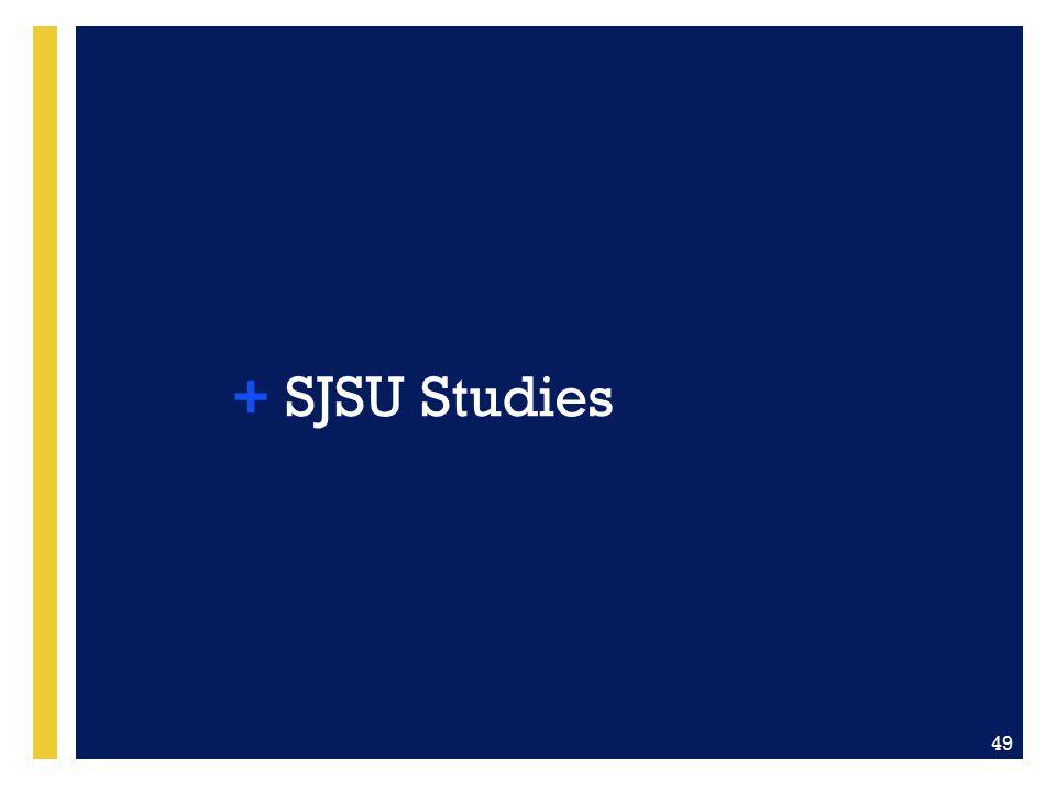 SJSU Studies