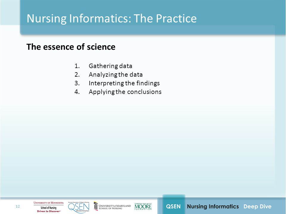Nursing Informatics: The Practice