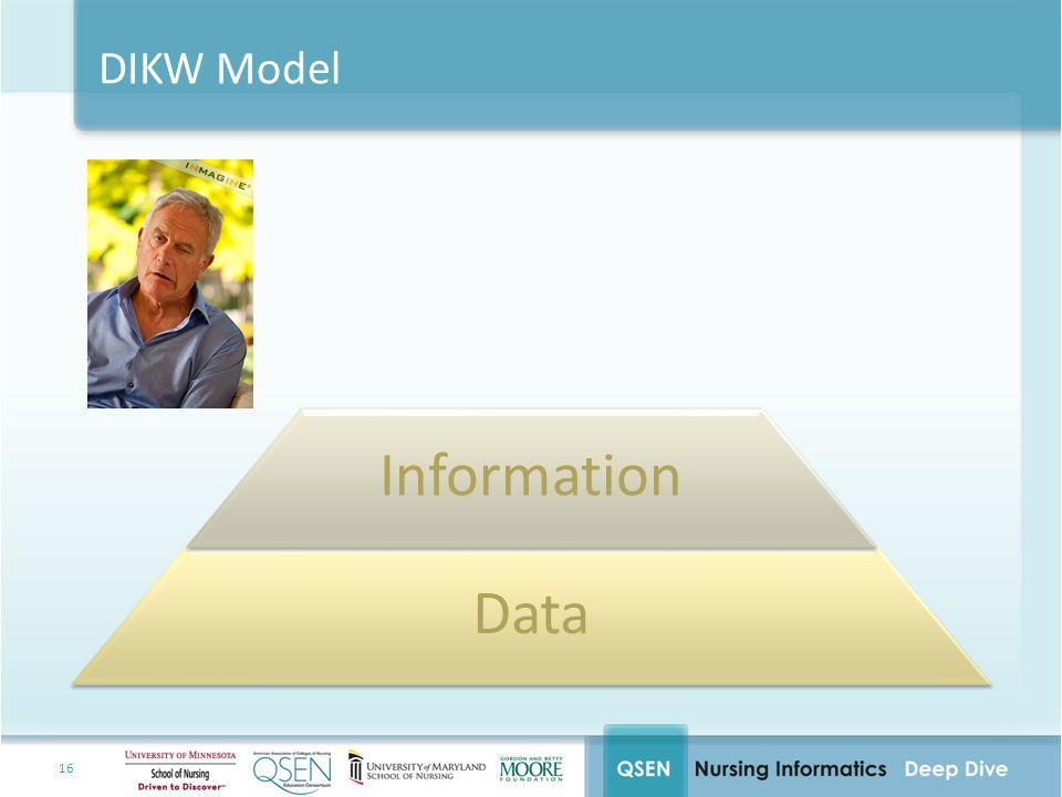 Information Data DIKW Model