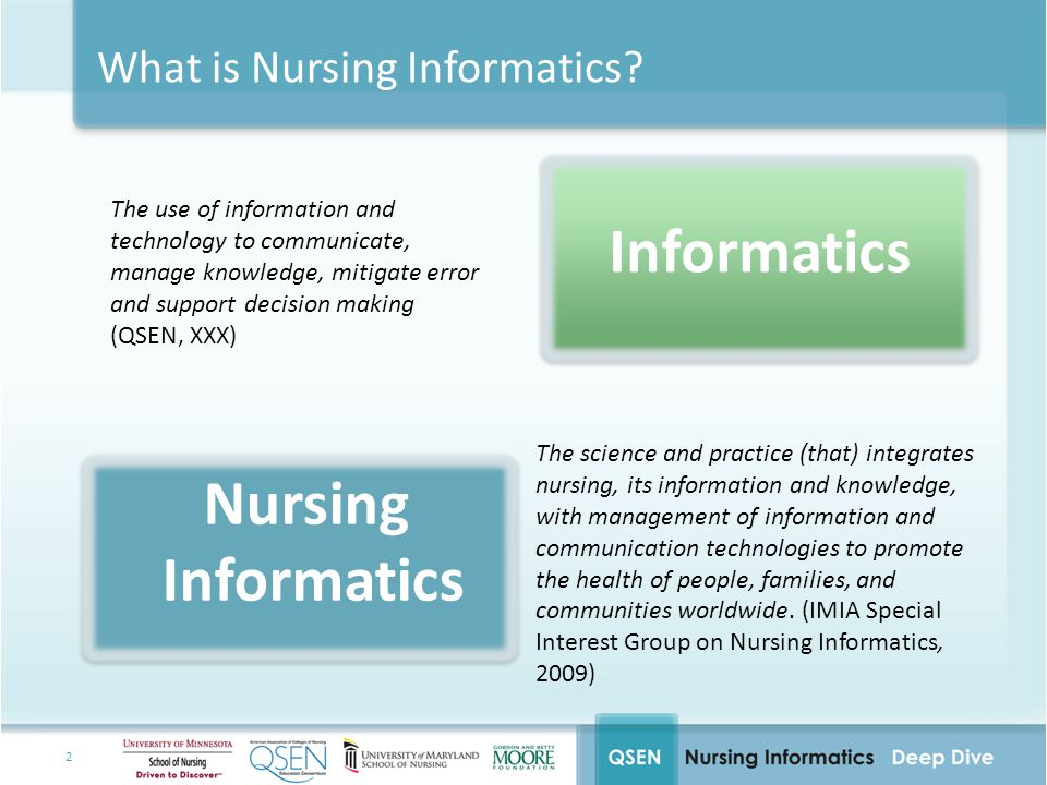 What is Nursing Informatics