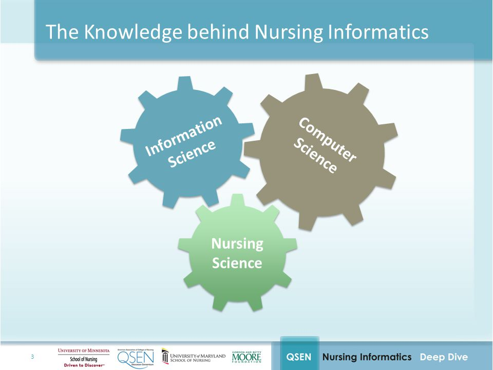 The Knowledge behind Nursing Informatics