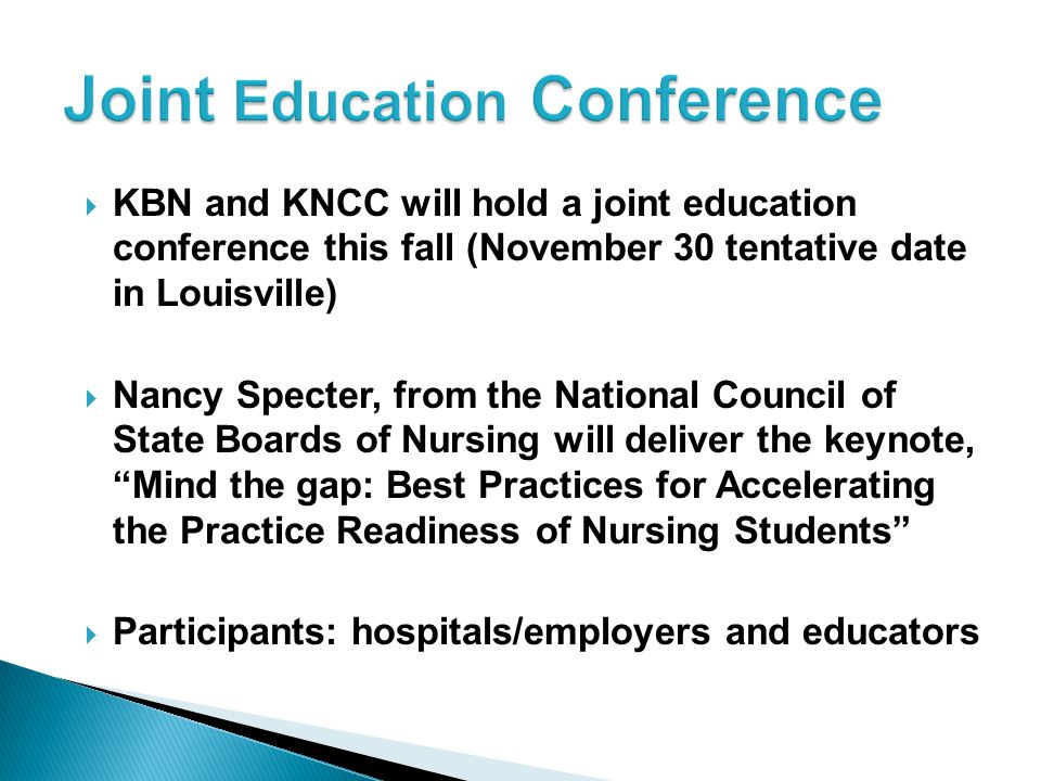 Joint Education Conference