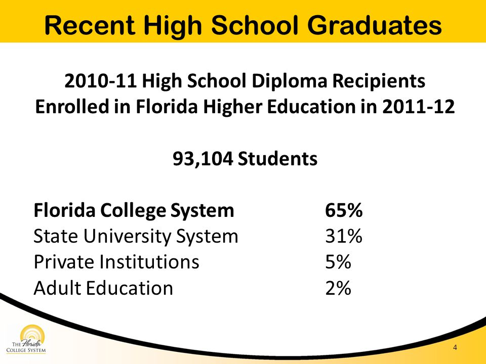 Recent High School Graduates
