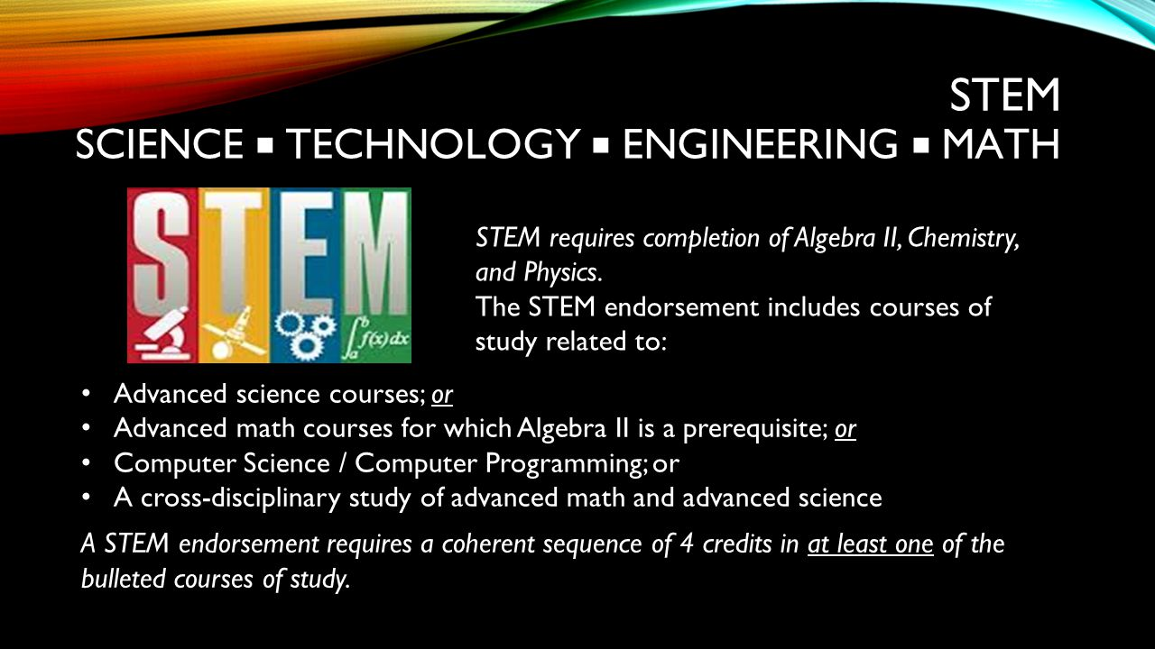 STEM Science ■ Technology ■ Engineering ■ Math