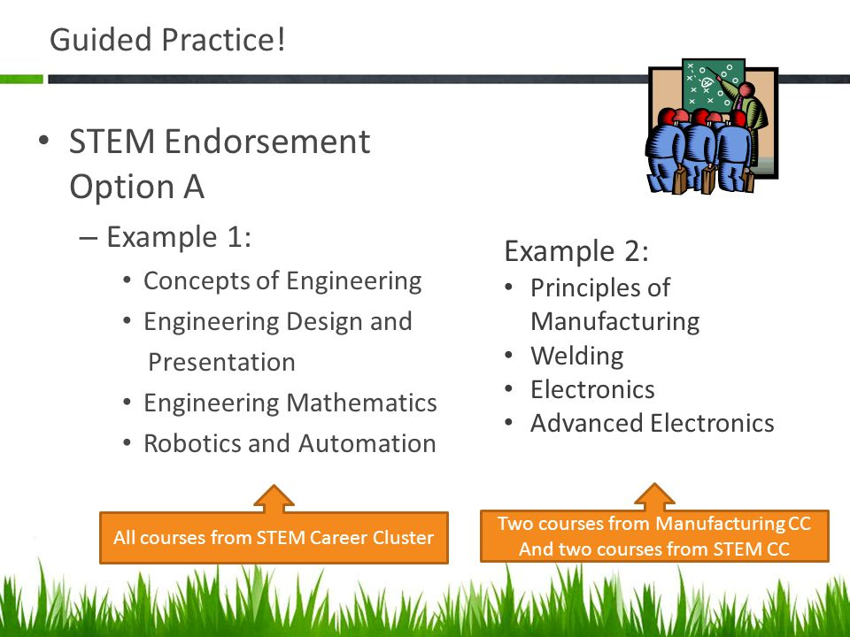 STEM Endorsement Option A
