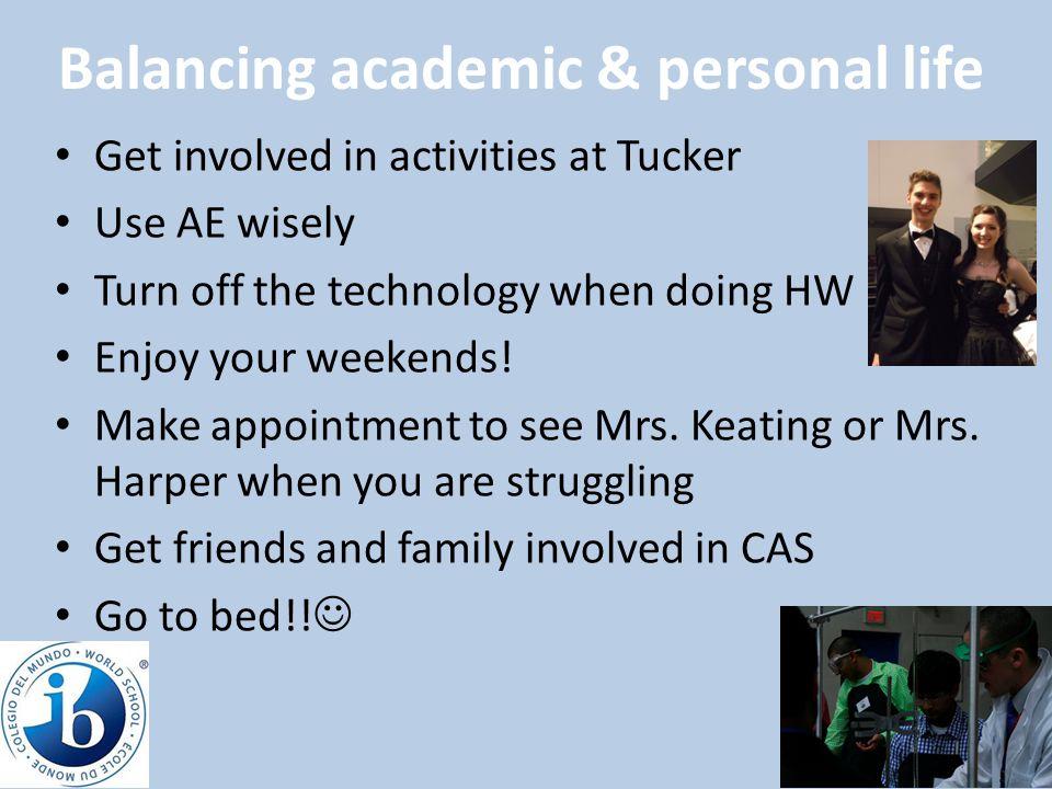 Balancing academic & personal life
