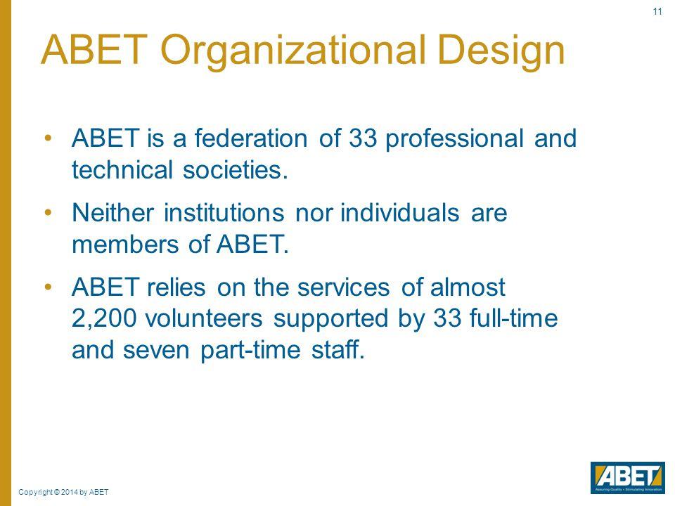 ABET Organizational Design