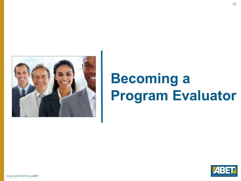 Becoming a Program Evaluator