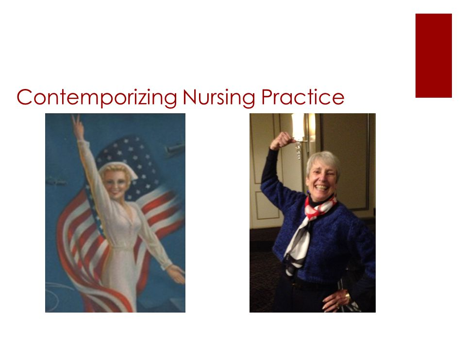 Contemporizing Nursing Practice