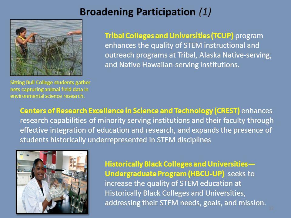 Broadening Participation (1)
