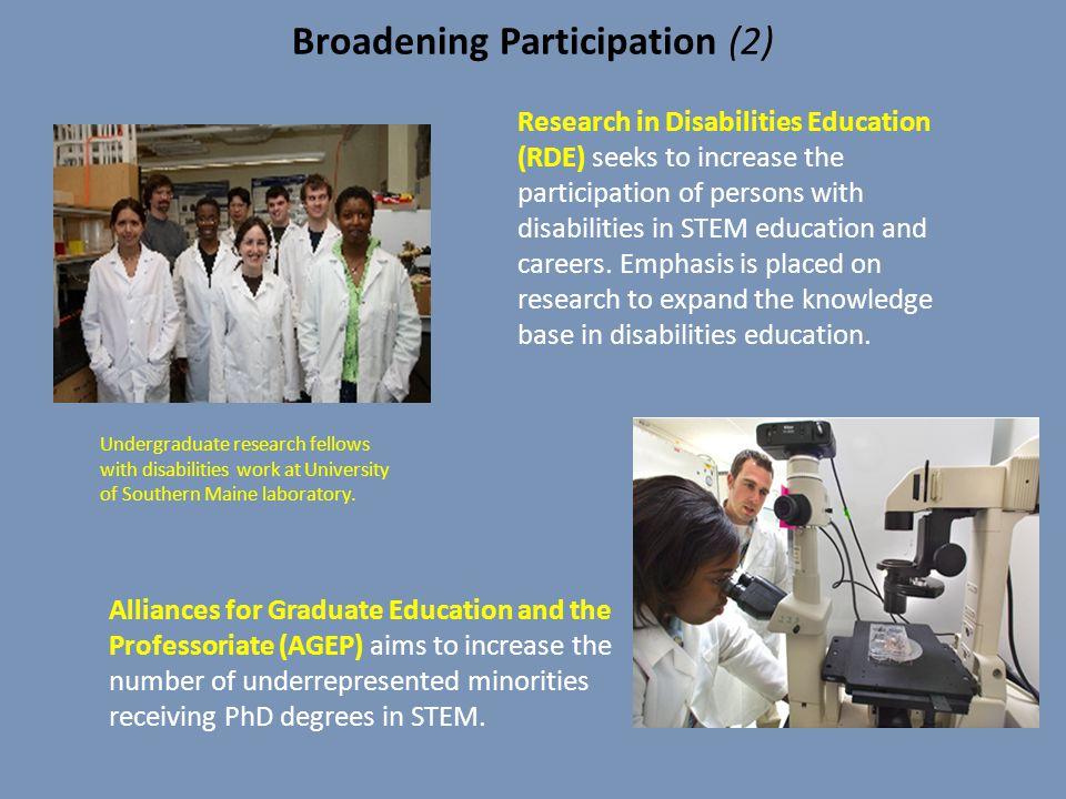 Broadening Participation (2)