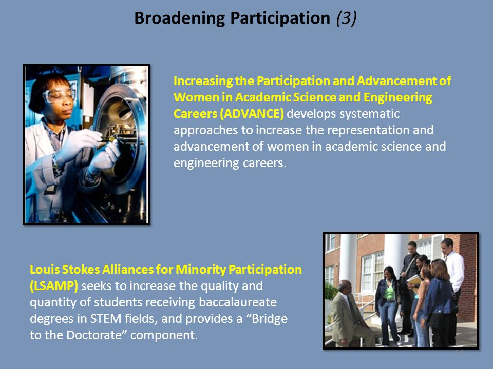 Broadening Participation (3)