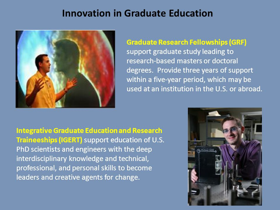 Innovation in Graduate Education