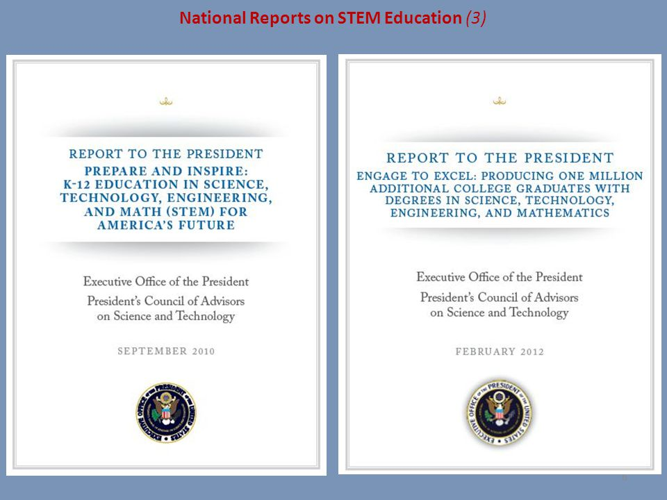 National Reports on STEM Education (3)