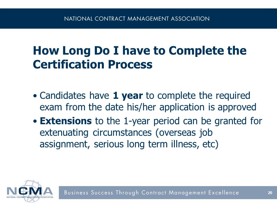 NCMA Certifications Set the Gold Standard