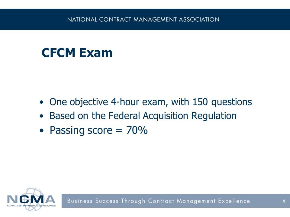 Certified Commercial Contracts Manager (CCCM) certification validates your education, training, experience and your knowledge of the Uniform Commercial Code