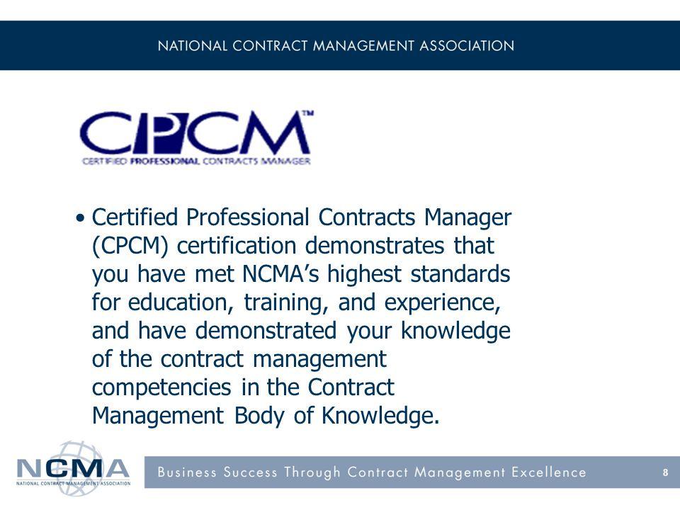 CPCM Prerequisites Academic Continuing Professional Education