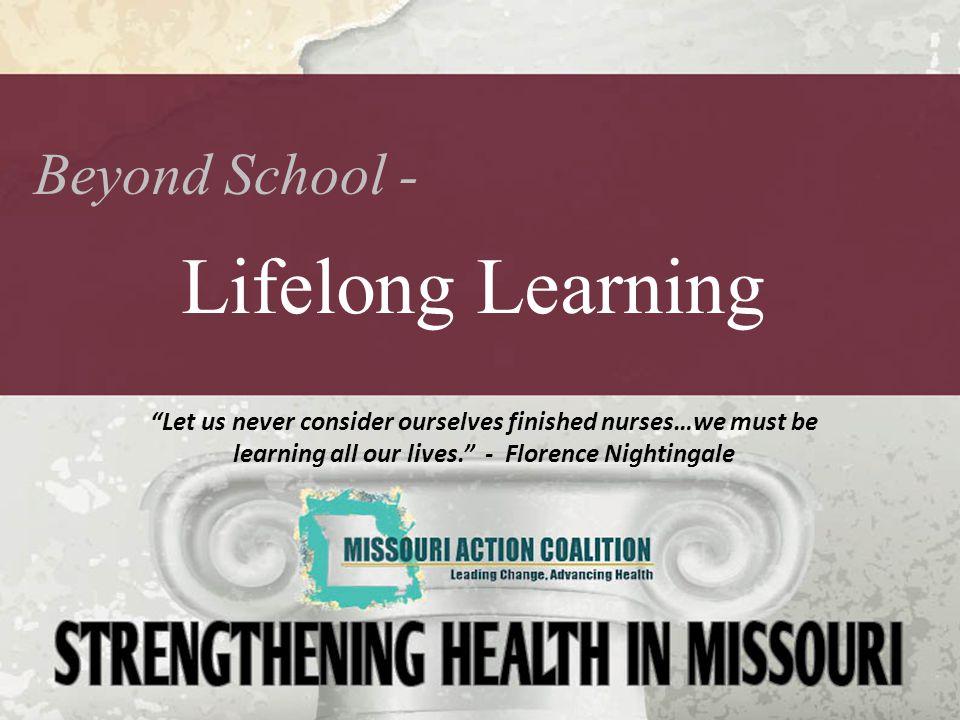 Lifelong Learning Beyond School -