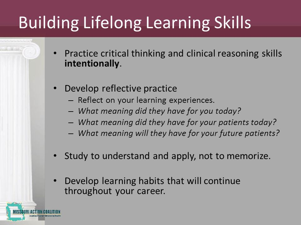 Building Lifelong Learning Skills