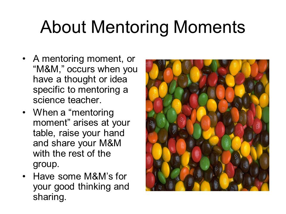 About Mentoring Moments