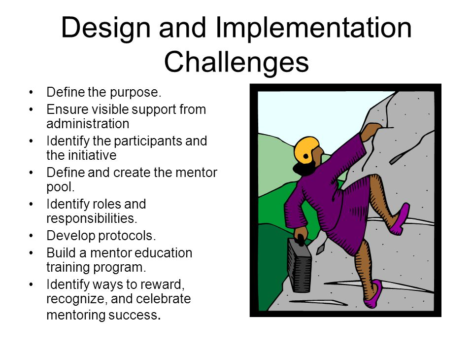 Design and Implementation Challenges