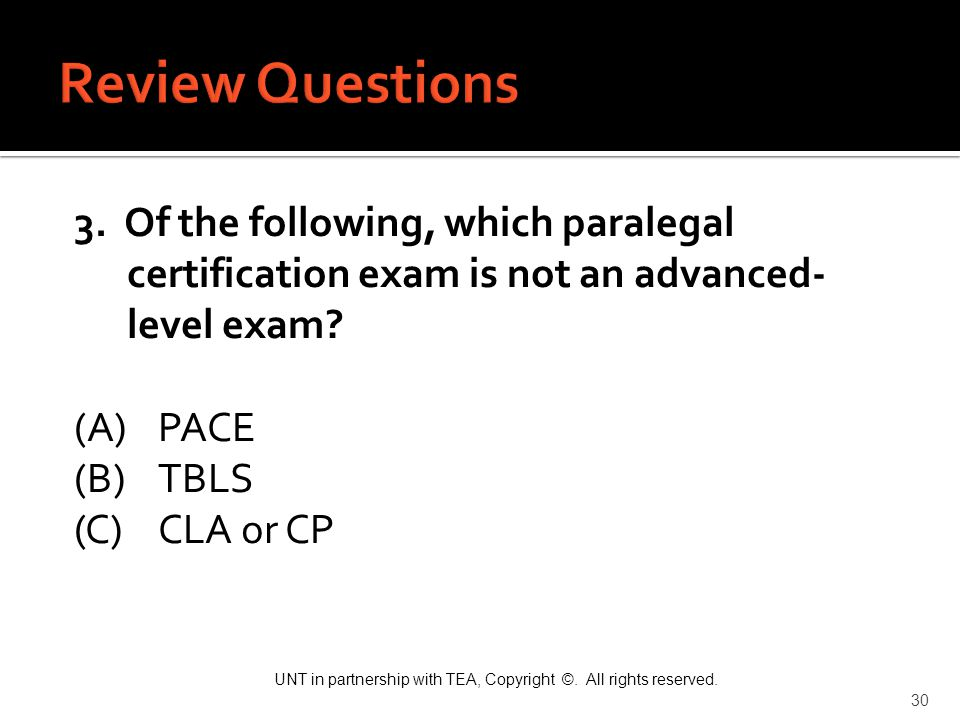 Review Questions 3.