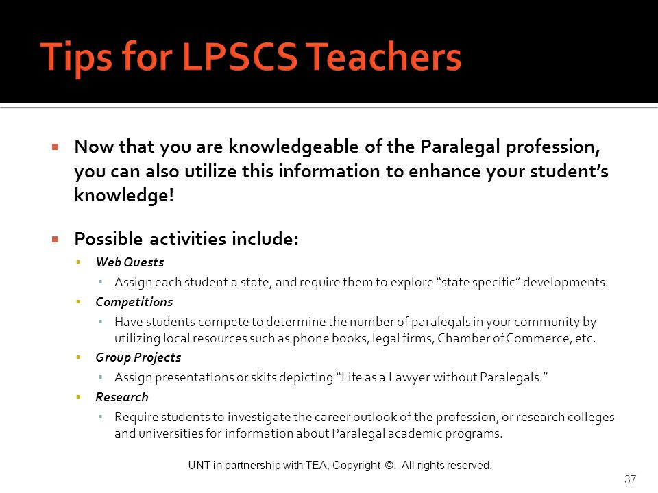 Tips for LPSCS Teachers