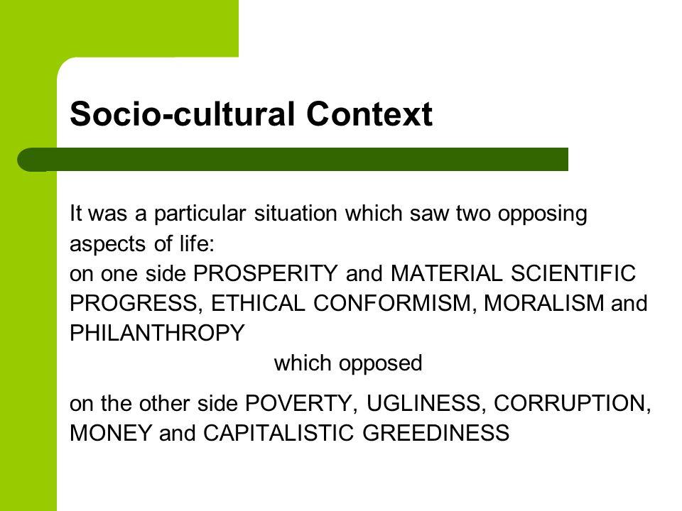 Socio-cultural Context