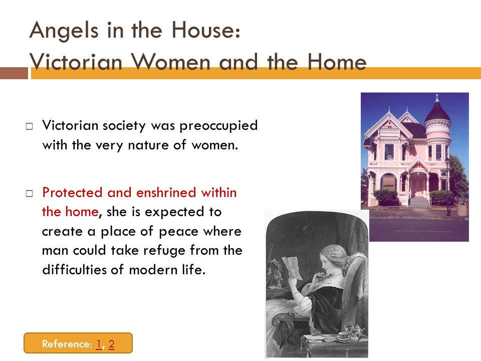 Angels in the House: Victorian Women and the Home