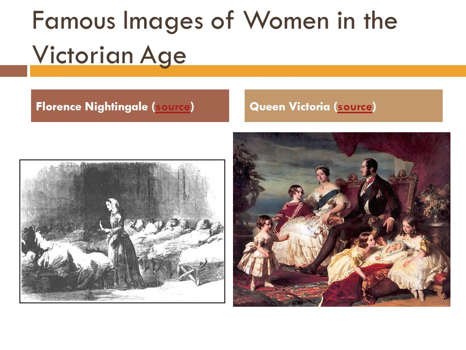 Famous Images of Women in the Victorian Age