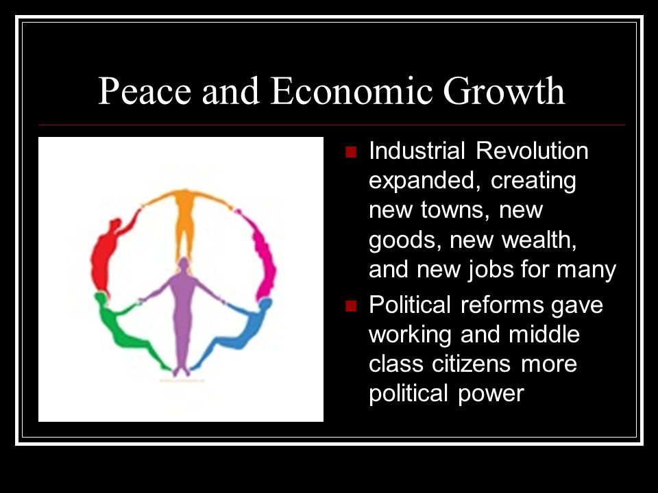 Peace and Economic Growth
