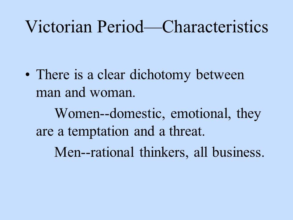 Victorian Period—Characteristics