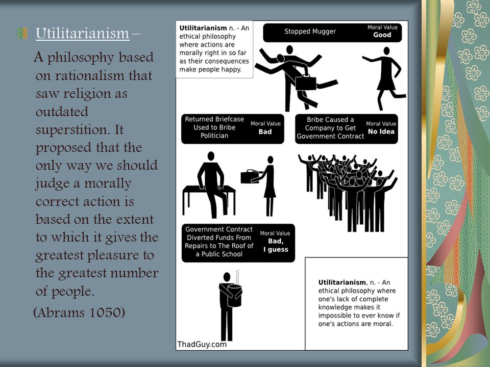 Utilitarianism –