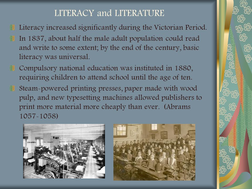 LITERACY and LITERATURE