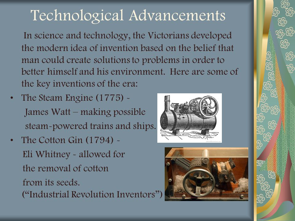 Technological Advancements