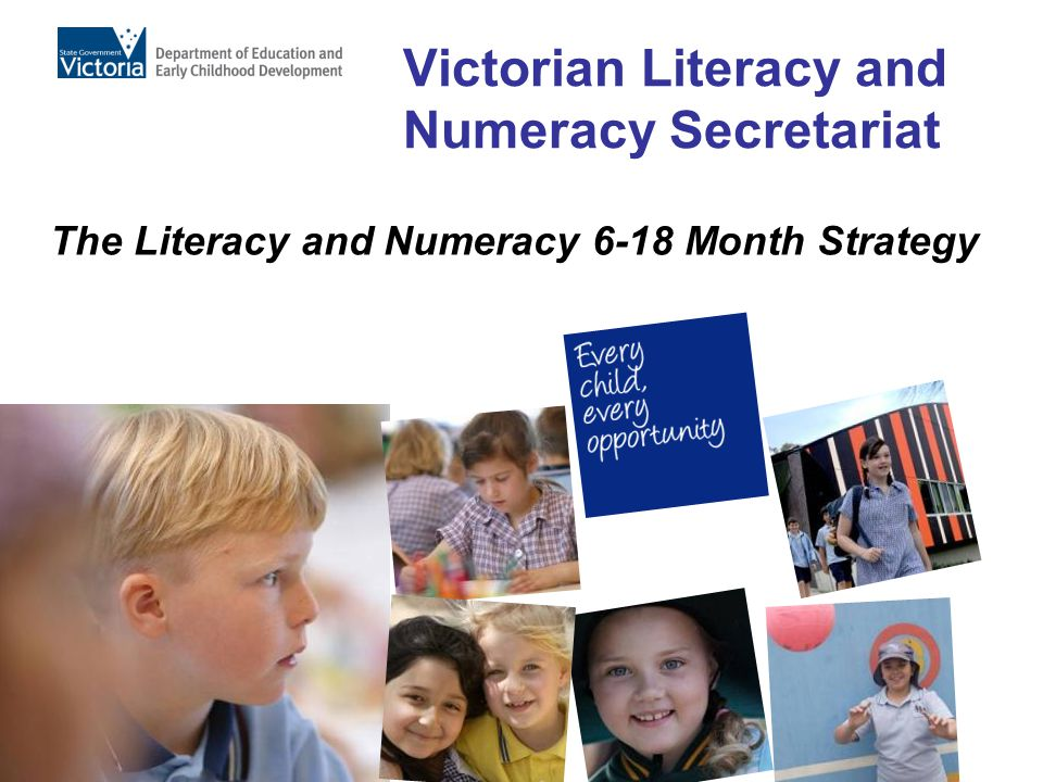 Victorian Literacy and Numeracy Secretariat