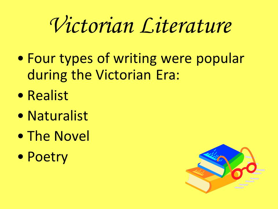 literature during the victorian age of
