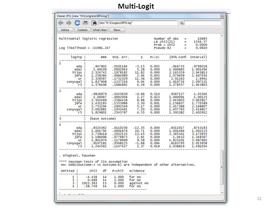 Multi-Logit