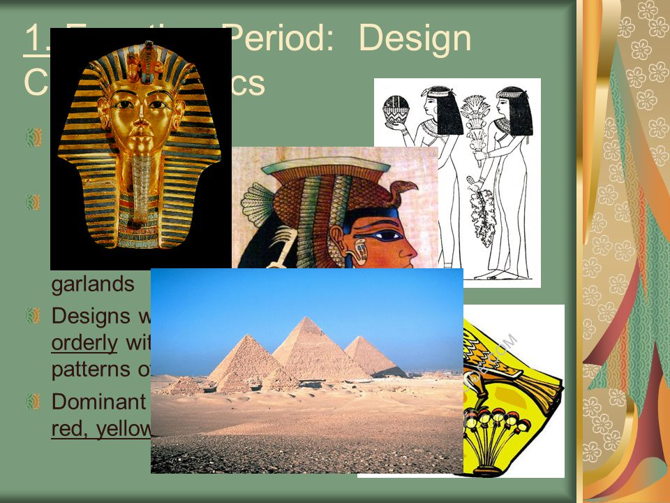 1. Egyptian Period: Design Characteristics