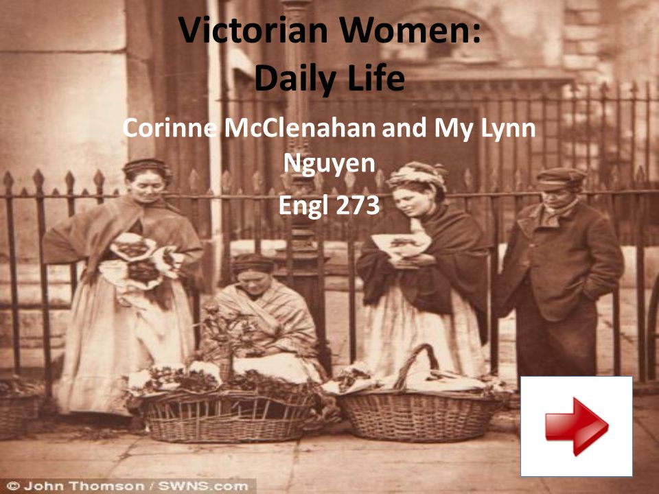 Victorian Women: Daily Life