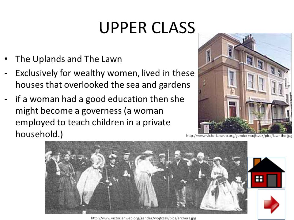 UPPER CLASS The Uplands and The Lawn