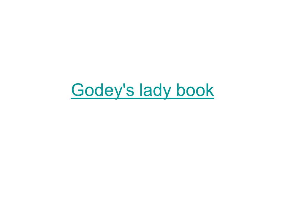 Godey s lady book