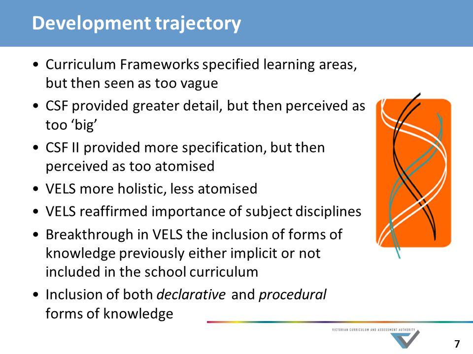 Development trajectory