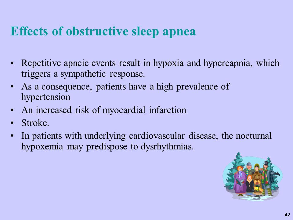 Effects of obstructive sleep apnea