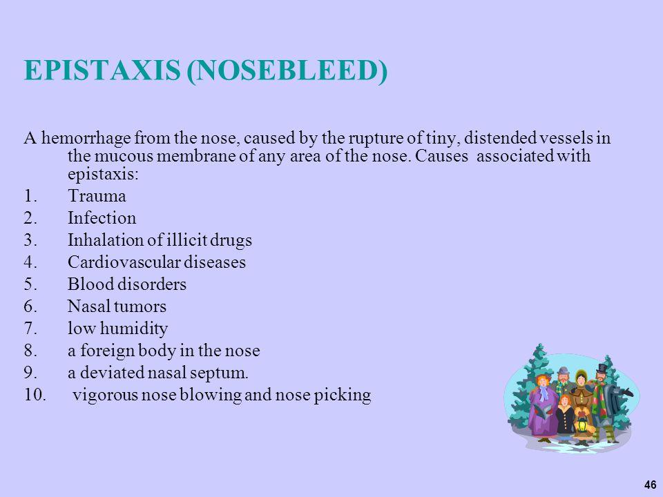 EPISTAXIS (NOSEBLEED)
